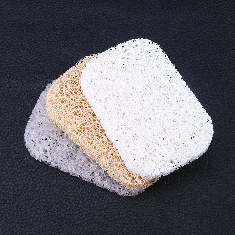 Creative Draining Non-slip PVC Soap Mat Keep Dry Mildew-proof Soap Pad Eco-Friendly Soap Saver Tray Bathroom Gadget Sponge Holde