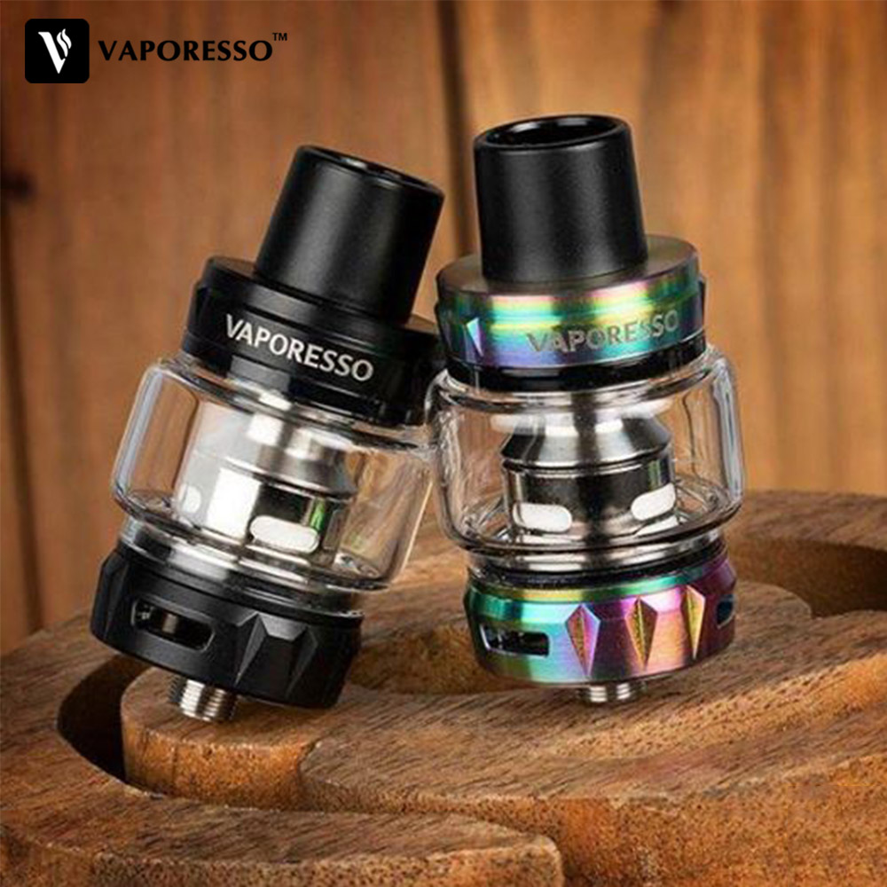 Original Vaporesso SKRR S Vape Tank 8ml Electronic Cigarett Atomizer With QF Strips Meshed Coil For LUXE GEN Polar Armour Pro