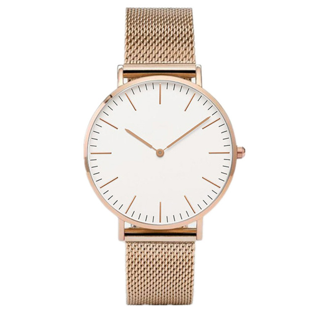 Luxury Rose Gold Watch Women Bracelet Watches Top Brand Ladies Casual Quartz Watch Steel Women's Wristwatch Montre Femme Relogio 5