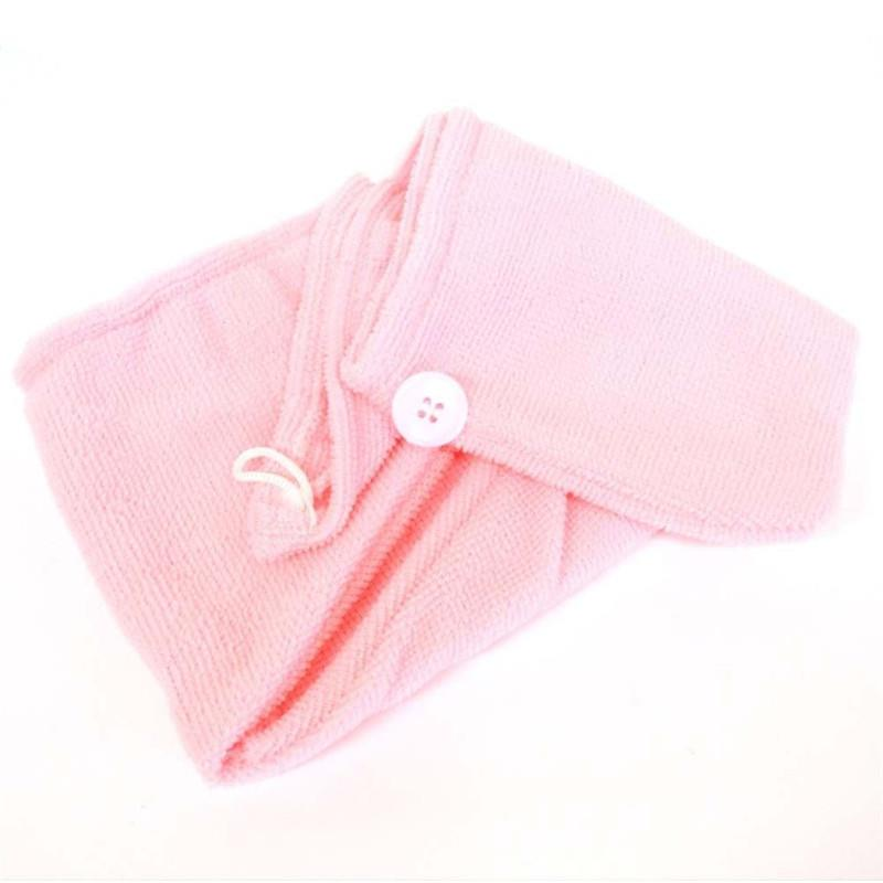 VIP LINK-Microfibre After Shower Hair Drying Wrap Womens Girls Lady's Towel Quick Dry Hair Hat Cap Turban Head Wrap Bathing Tool 2