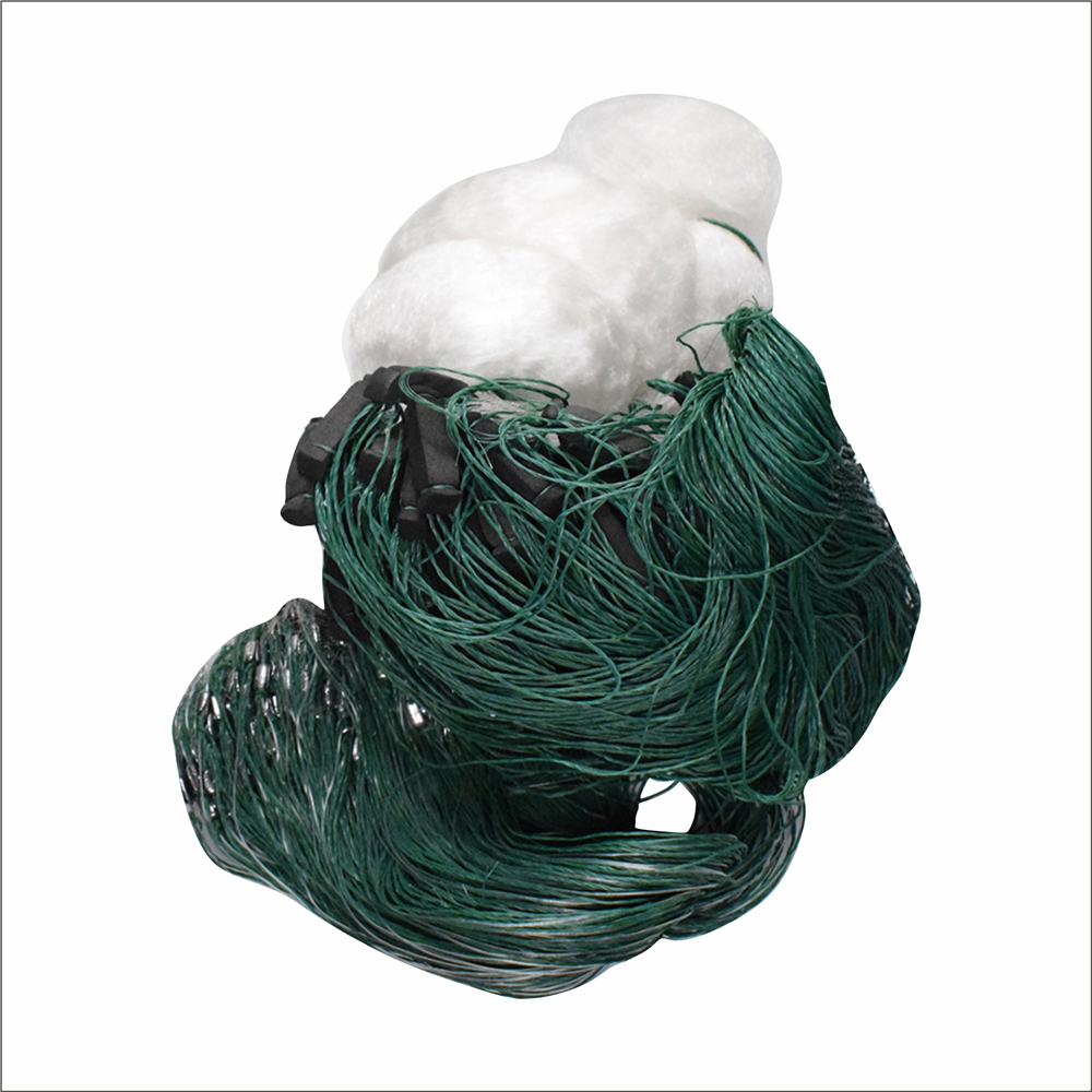 Fishing Net C Accessory Winter Fishing Shipping Lead Floats Height 4 M Length 80 M One White Line