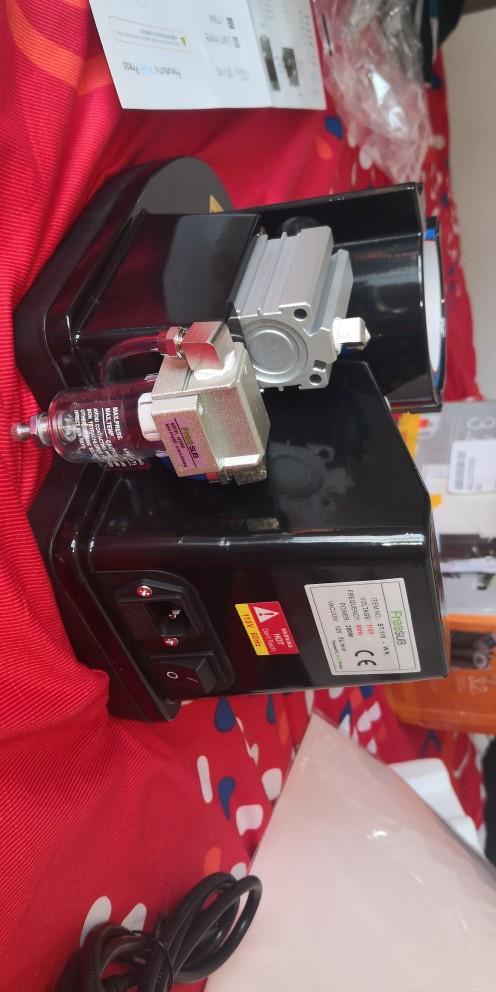 Mug Heat Press PNEUMATIC AUTO ST 110 Sublimation Mug Print Transfer Black White|Printers| |  - AliExpress