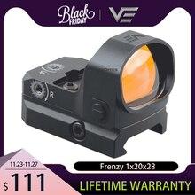 וקטור אופטיקה טירוף 1x20x28 גדול חלון גודל טקטי Red Dot Sight 3 מואה IPX6 מים הוכחה fit אקדח 9mm גלוק AR .223 .308