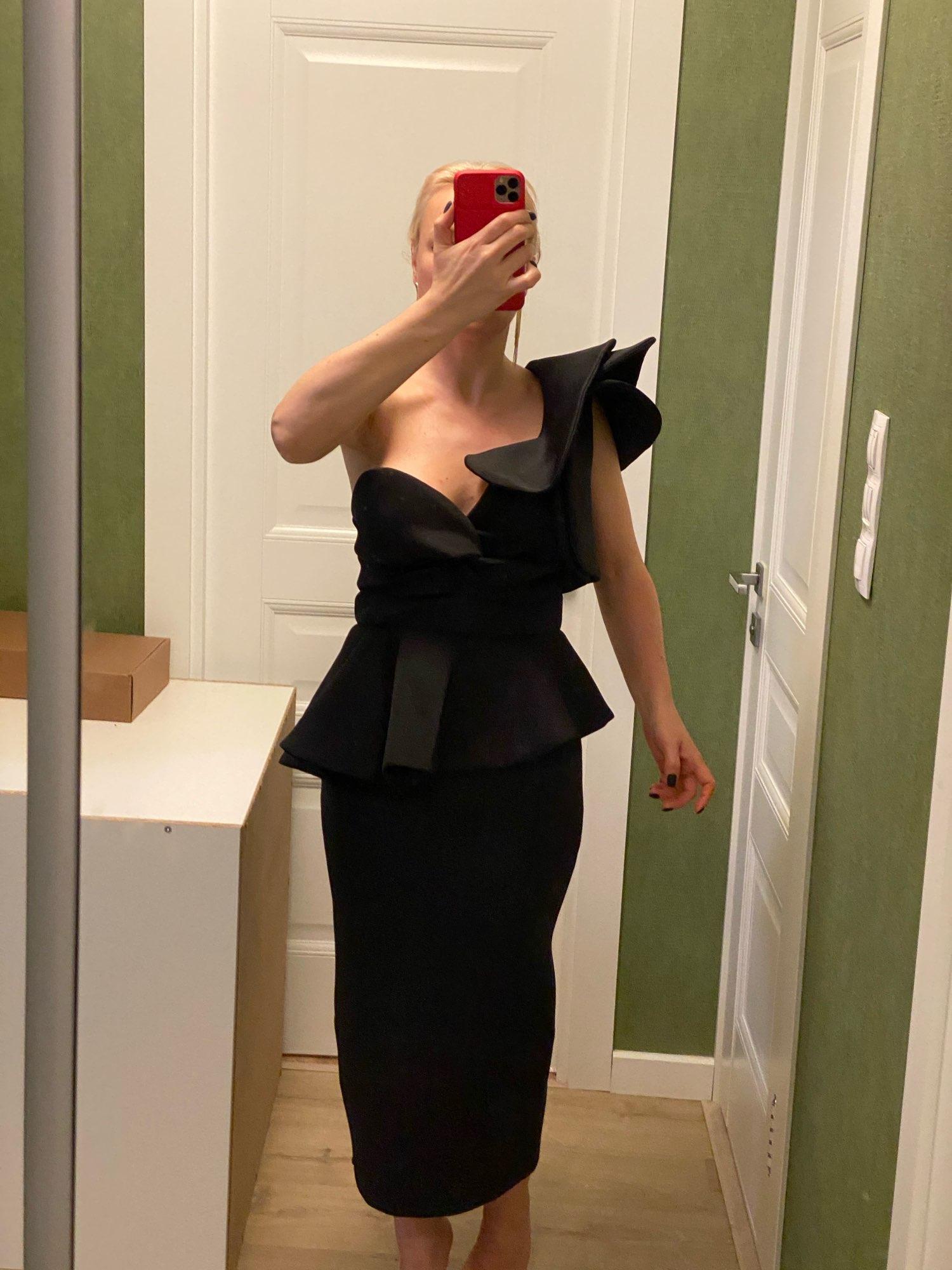 Missord 2020 Women Sexy Bodycon Off Shoulder Bandage Dresses Female Ruffles Backless Elegant Club Summer Dress Vestido TB0020 reviews №1 611685
