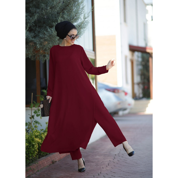 Turkish Clothes For Women Muslim Autumn Garment Eid Moroccan kaftan Moroccan tagine Dress Hijabi European Clothing Robe Femmes image