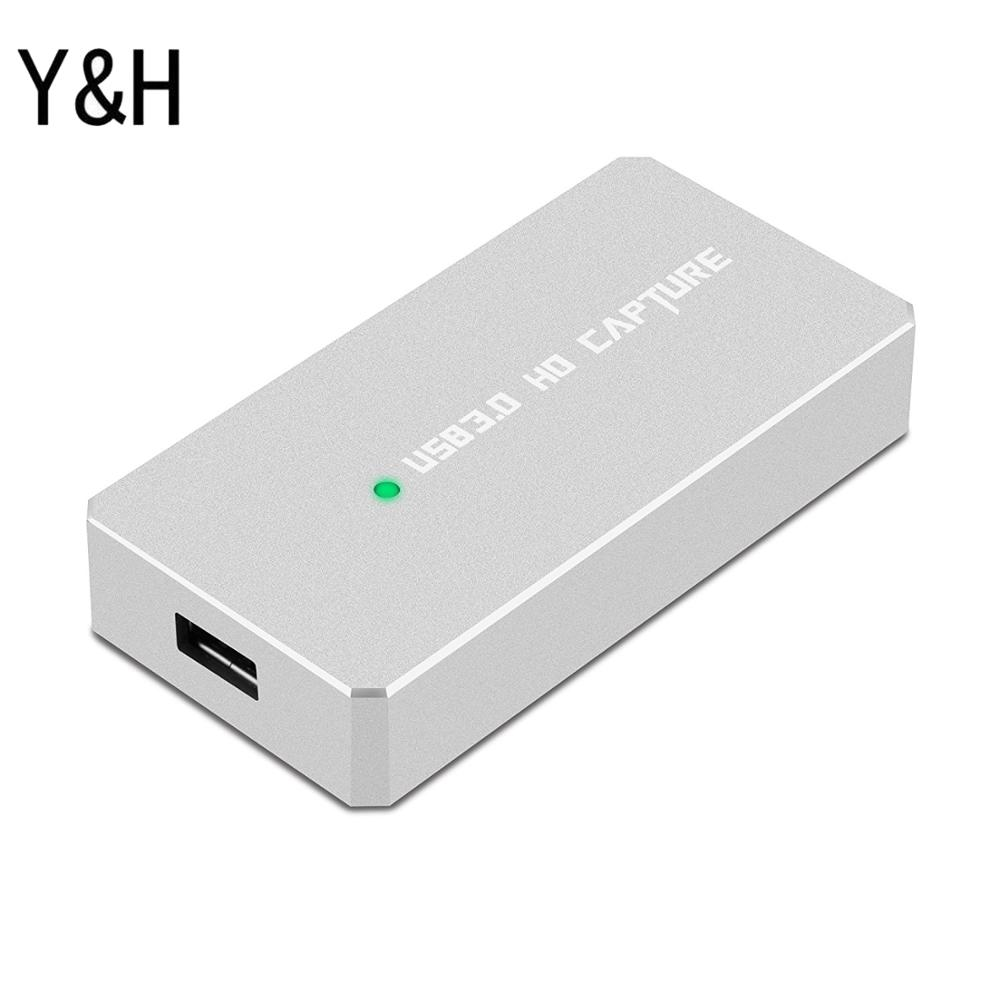 3PCS Y&H HDMI Video Capture Card For Live Streaming Ezcap287P