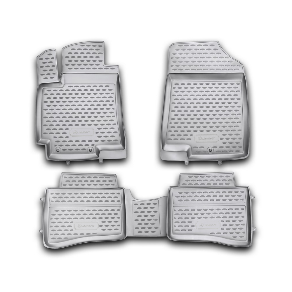 Floor Mats For HYUNDAI Solaris 2010-2014, HB. 4 PCs NLC.20.45.210h