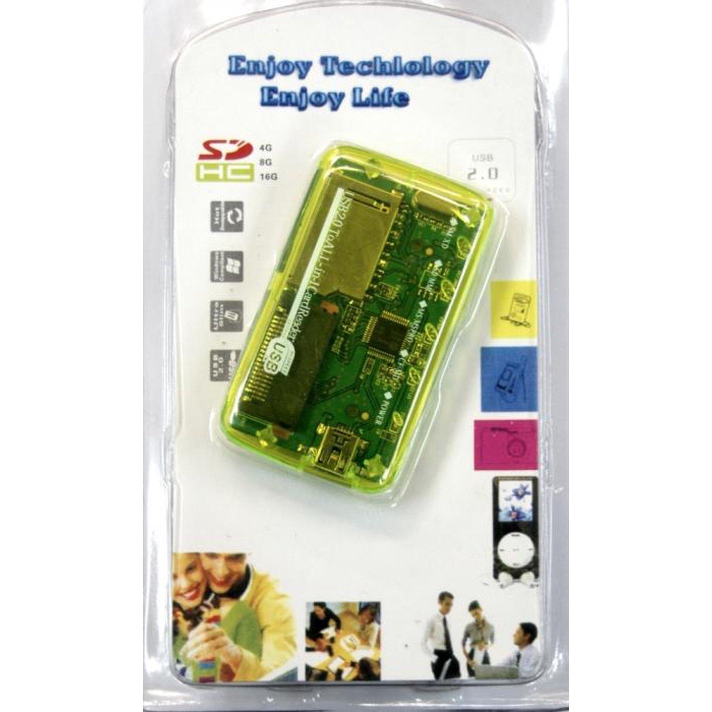 Usb 2.0 memory card reader 23 in 1