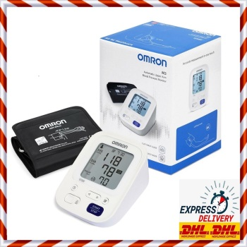 Omron Blood Pressure Monitor M3 Upper Arm with Wrap Cuff Fast Delivery omron blood pressure monitor m7 intelli it upper arm with wrap cuff 22 42 cm brand new in the original box fast delivery