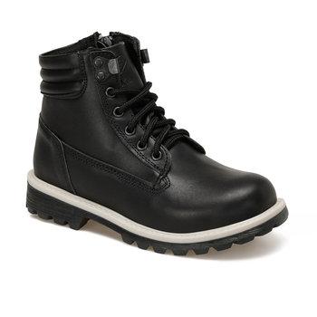 FLO GARET skóra 9PR brązowe męskie buty dziecięce KINETIX tanie i dobre opinie ALLIGATOR Korka Chłopcy