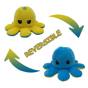 Flip Octopus Stuffed Plush Doll Soft Simulation Octopus Cotton Toy Animal Stuffed Child/Kids/Girl Christmas NEW Year Gift Toy