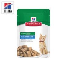 Hill's Science Plan Healthy Development влажный корм для котят с океанической рыбой 12шт. х 85 г