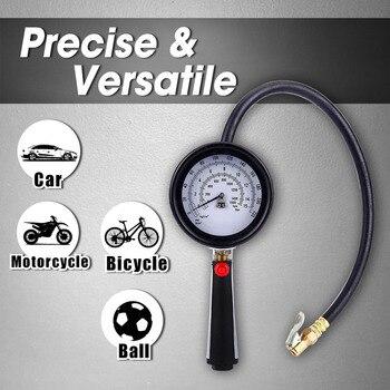 Inflador de neumáticos de Metal LEMATE Pro con indicador de neumático 220 PSI, Inflador de neumáticos Dual para coche, camión, motocicleta con Inflador de neumáticos, Portabrocas de aire