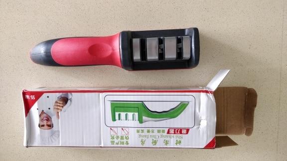 Dropshipping Quick Knife Sharpener Professional Tungsten Diamond Sharpening Stone 3 Stages Non Slip  Kitchen Tools Household|sharpening professional|knife grinderknife sharpener - AliExpress