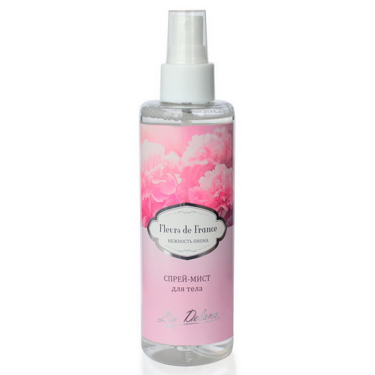 Spray Mist Body Delicate Peony, Series Fleurs De France 200g