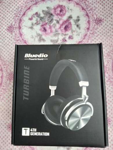 Original Bluedio T4 active noise cancelling wireless bluetooth headphones wired headset with microphone for phone xiaomi samsung-in Bluetooth Earphones & Headphones from Consumer Electronics on AliExpress