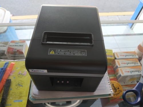 High quality 80mm thermal receipt bill printers Kitchen Restaurant POS printer With automatic cutter function Stylish appearance-in Printers from Computer & Office on AliExpress