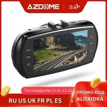 AZDOME M11 Dash Cam 3 นิ้ว 2.5D IPSบันทึกภาพหน้าจอDVR HD 1080Pเครื่องบันทึกวิดีโอรถยนต์Night Vision dashcam Dashกล้องGPS