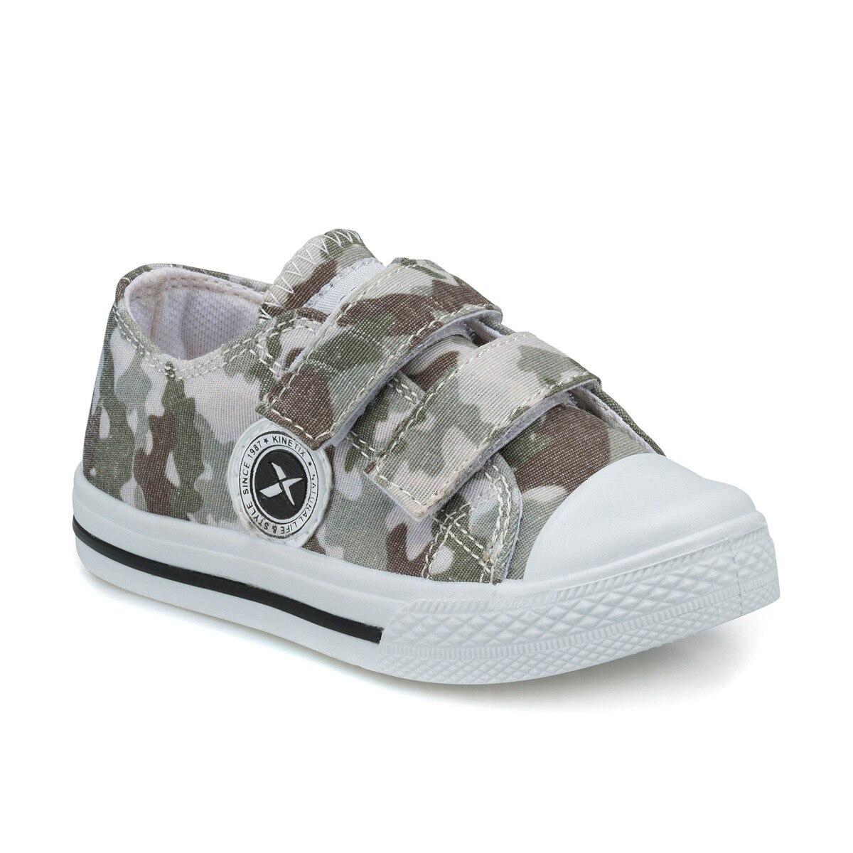 FLO ARM Khaki Male Child Sneaker Shoes KINETIX
