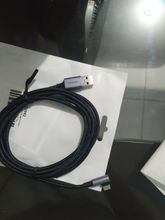 The cable looks good quality, I'll try it and comment again. But as a first impression, it