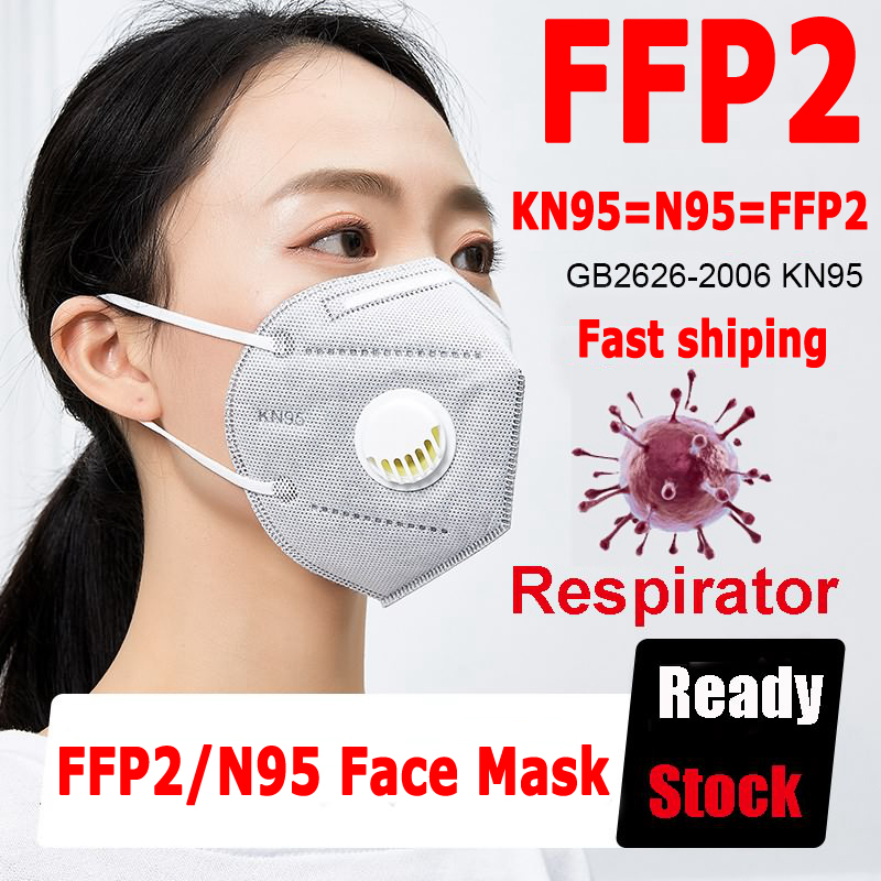 50pcs FFP3 Mask N95 Protective Safety Mascarillas KN95 Pm2.5 FFP2 With Respirator 99% Filtration Dust Pollution Send 24 Hour