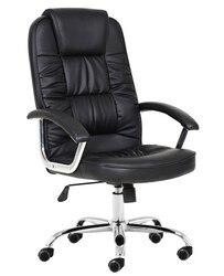 Fotel biurowy PAOLO  wysoki  gazowy  uchylny  podobny czarny