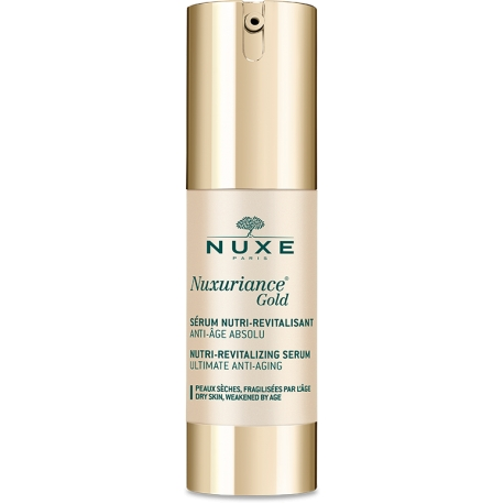 Nuxe Nuxuriance Gold Nutri Revitalizing Serum 30 Ml Anti-aging Serum For All Skin Types