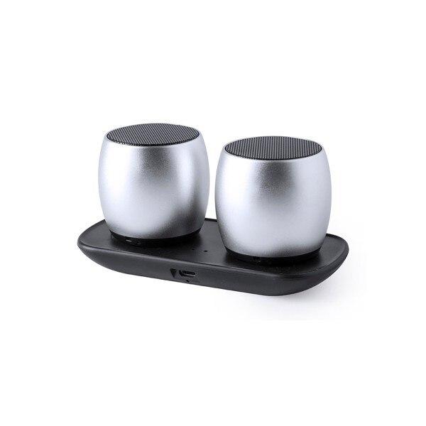 Wireless Bluetooth Speakers USB 6W Silver 146054| |   - title=