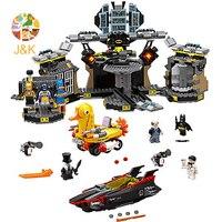 70909 1807Pcs Batman Movie Series The Batcave Break in Building Blocks Bricks Education Toys Gift 10636