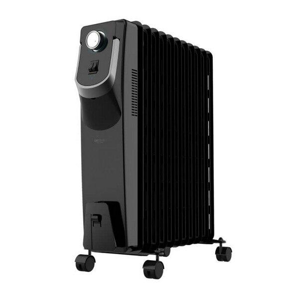 Oil-filled Radiator (11 Chamber) Cecotec Ready Warm 5870 Space 360º 2500W Black