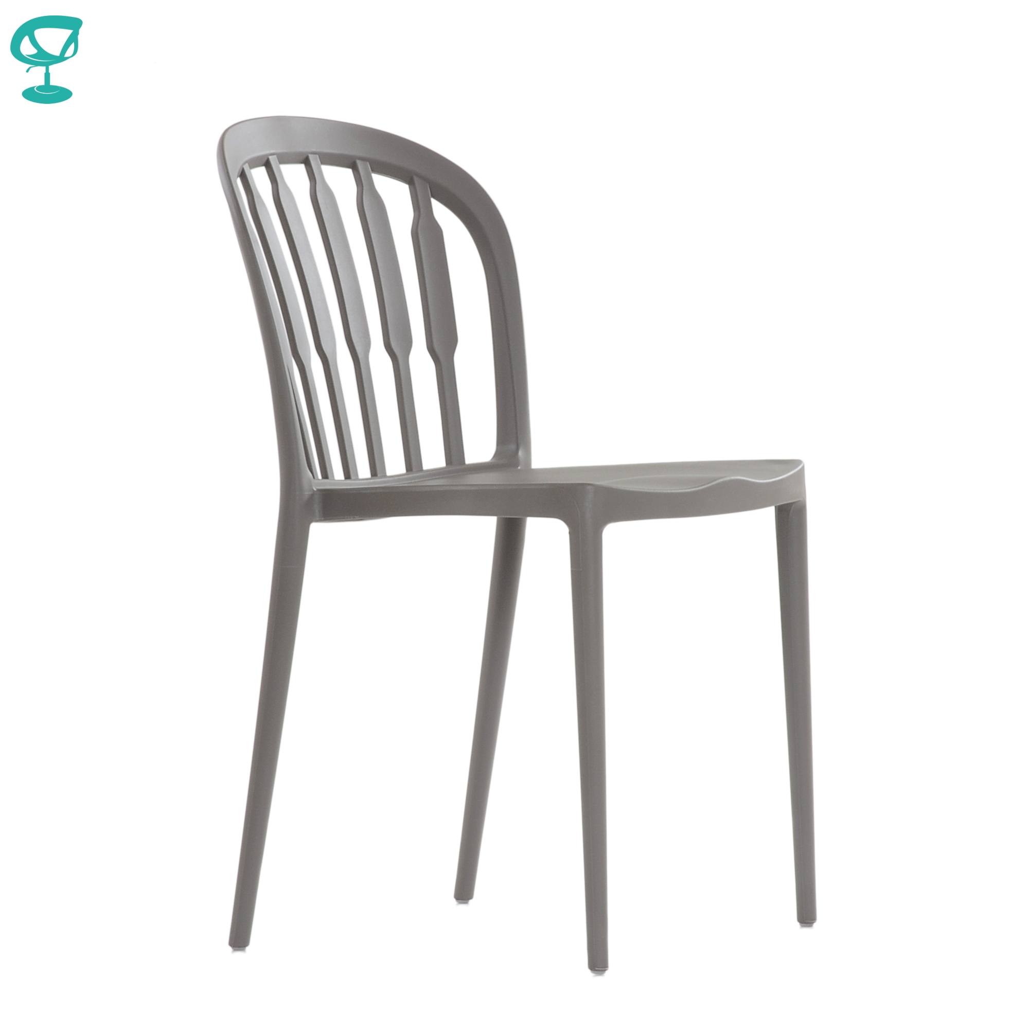 95720 Barneo N-216 Plastic Kitchen Interior Stool Chair Chair Kitchen Furniture Beige-gray Free Shipping In Russia