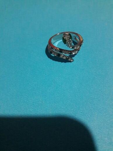 Snake Ring <br> Rhinestone