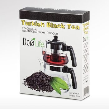 цена на DoraLife - Traditional Turkish Black Tea, 100 g