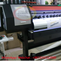 Double DX5 DX7 Dye Sublimation Plotter dual XP600 Head Sublimation Large format printer