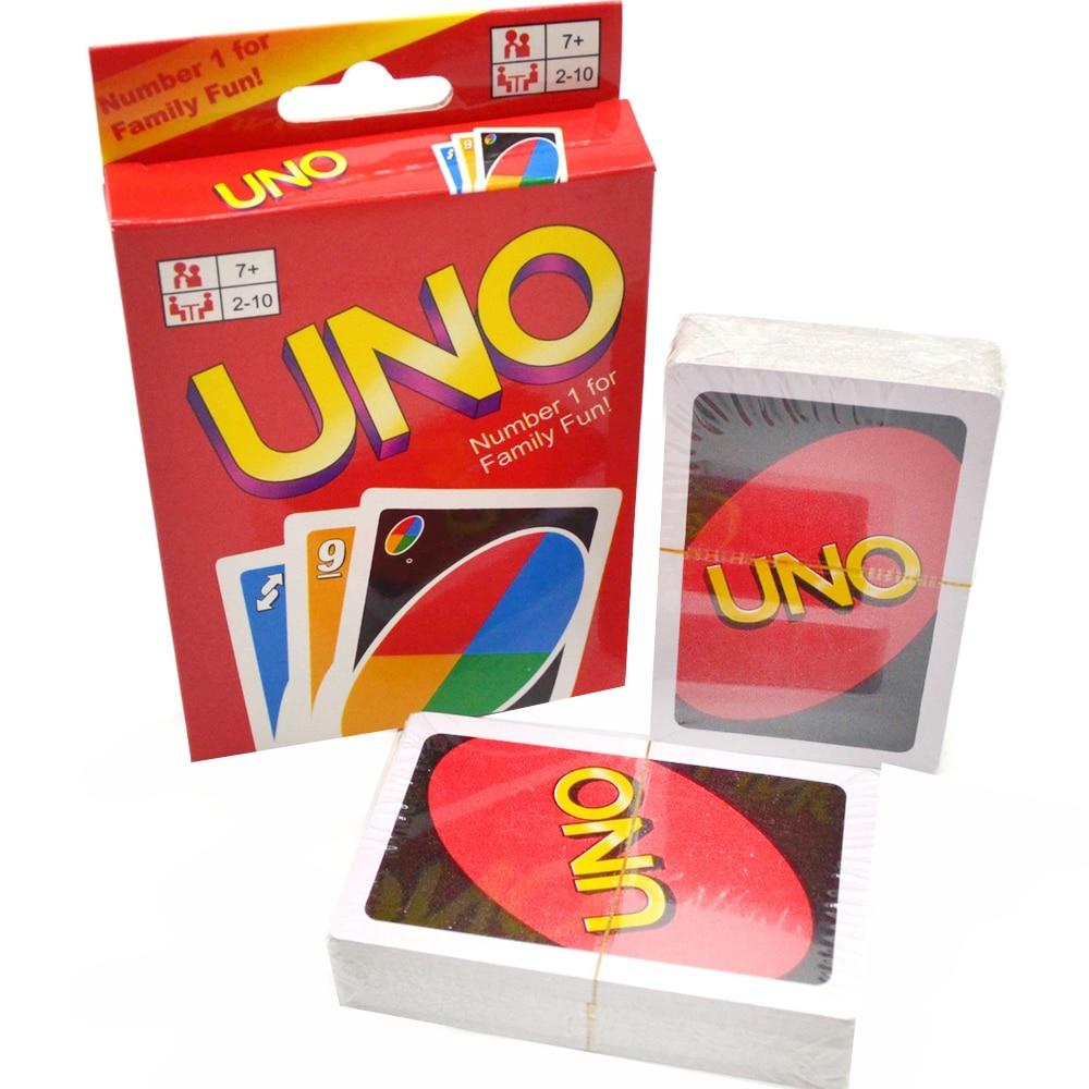 Настольная Карточная игра UNO Уно детская для всей семьи|Карточные игры|   | АлиЭкспресс
