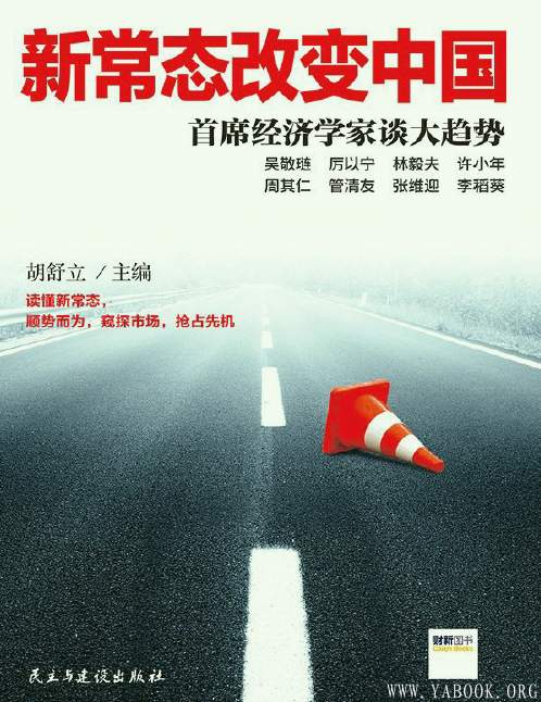 《新常态改变中国:首席经济学家谈大趋势 》封面图片