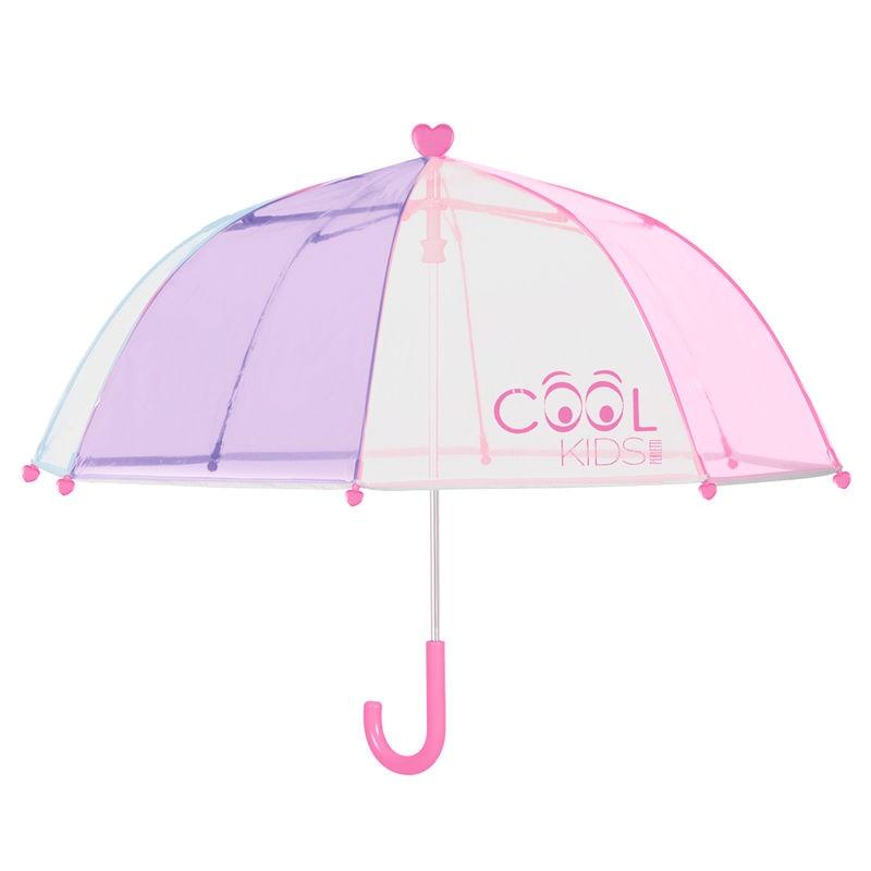 Children 'S Umbrella Handbook POE Pink 42 Cm.