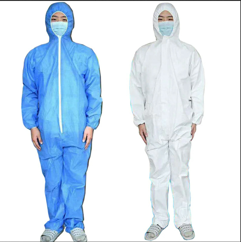 Reusable Protective Suit Protect Safety Anti-virus Hazmat Anti-Spit Safety Coverall Bacteria Droplet Isolation Work Medical