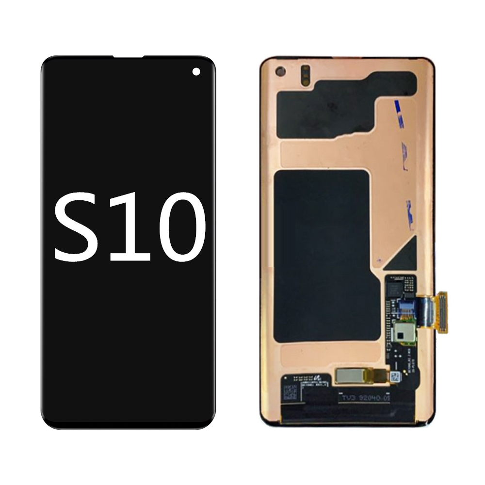 OEM FOR <font><b>SAMSUNG</b></font> GALAXY <font><b>S10</b></font> <font><b>LCD</b></font> Touch <font><b>Screen</b></font> AMOLED Display Digitize Assembly NO Burn Shadows G9730 G973N G973F G973U G997N image