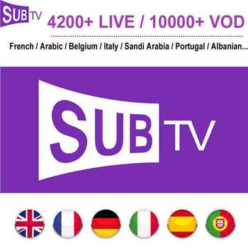 Subtv 12 months Original and stable Hd 4K Smart Tv Android Streaming extreme