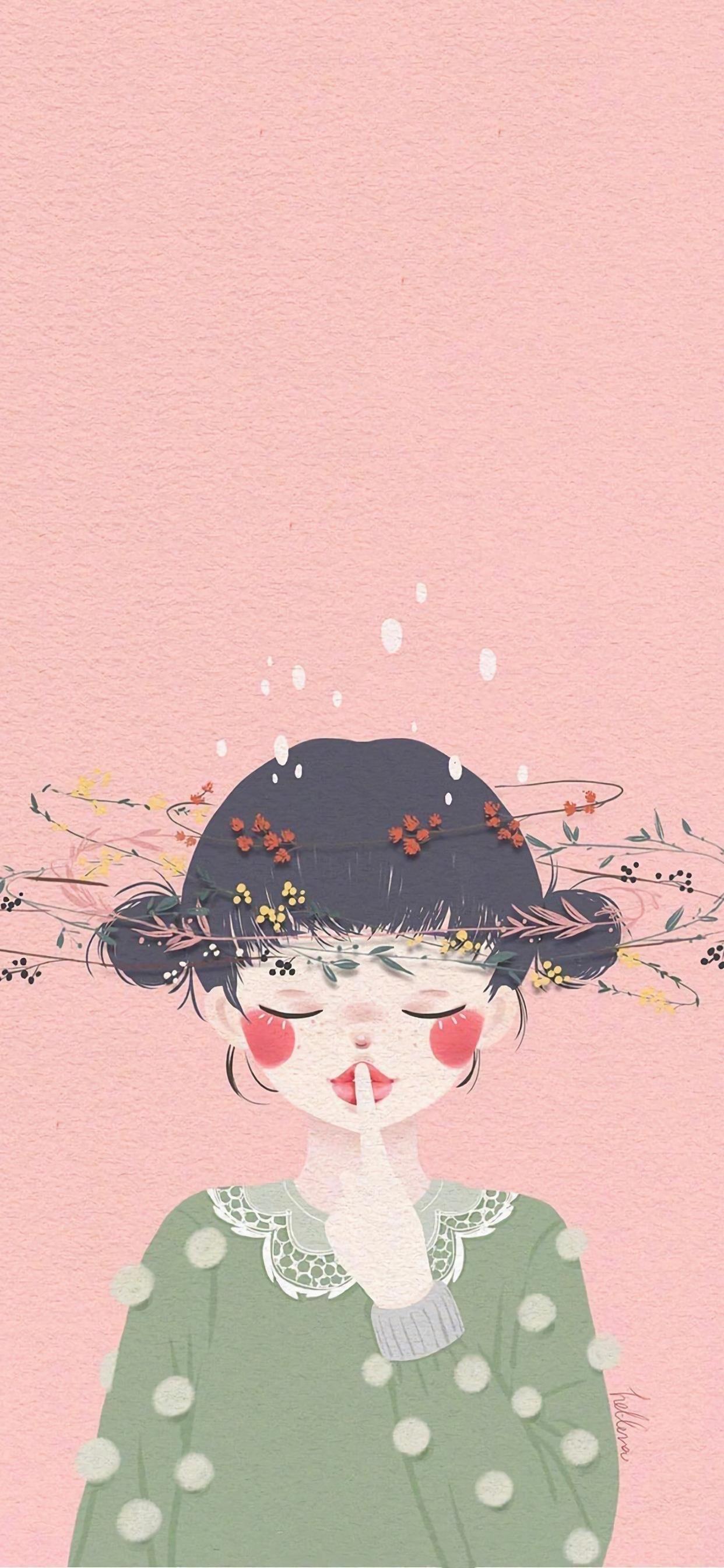 超赞壁纸:照着镜子对自己说,没事~ 再等等!插图33
