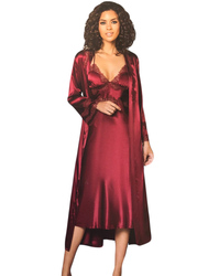 Pijama Pierre Cardin de satén de seda fruncido largo para mujer, Conjunto de pijama Geceli, 6 parcas, tallas S M L XL 6960