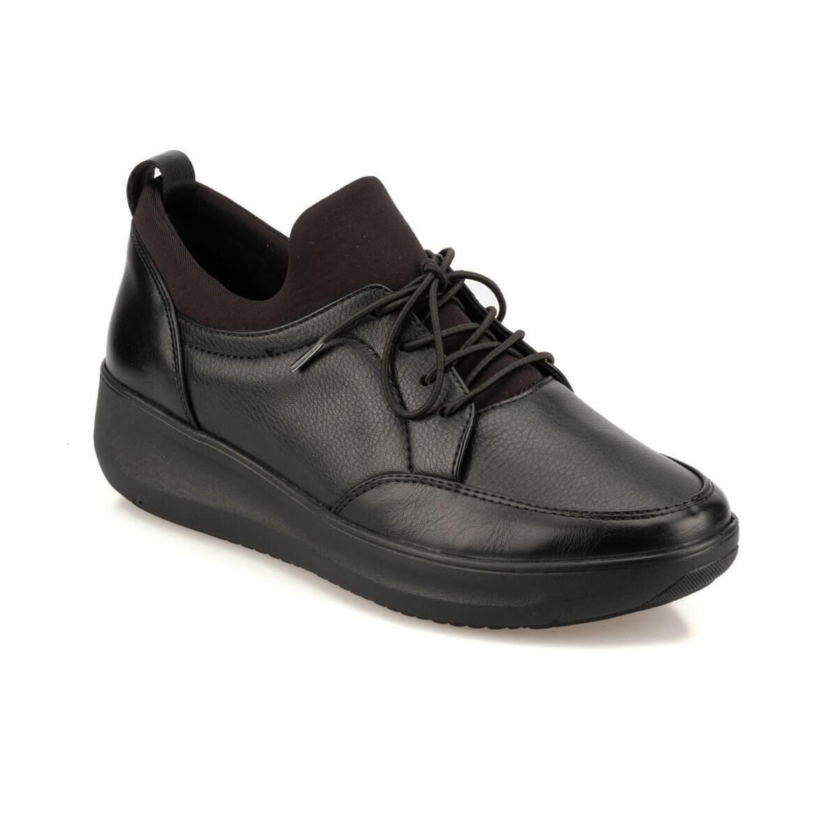 FLO TRV920065 Black Women 'S Sneaker Shoes Travel Soft