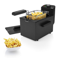 Deep fat Fryer Princess 182725 2 L 1700W Black|Electric Deep Fryers| |  -