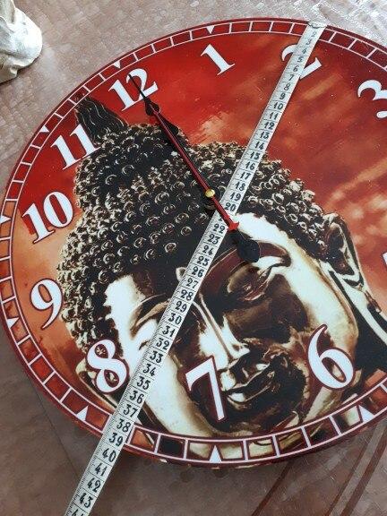 Vintage Buddha Design Clock Silent