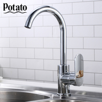 Potato Kitchen Faucets Water Filter Taps Kitchen Faucets Mixer Drinking Filter Faucet Kitchen Chrome Sink Tap Water Tap p4039