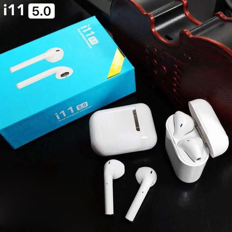 Headphones Bluetooth I11 Original Chip For Music Headset Quality Inalambricos With Full Load's Cash Box