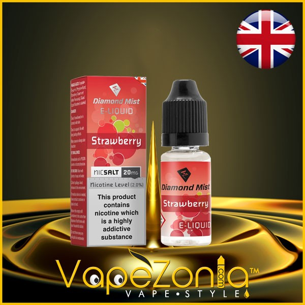Diamond Mist Nic Salt STRAWBERRY 20 Mg - 10 Ml