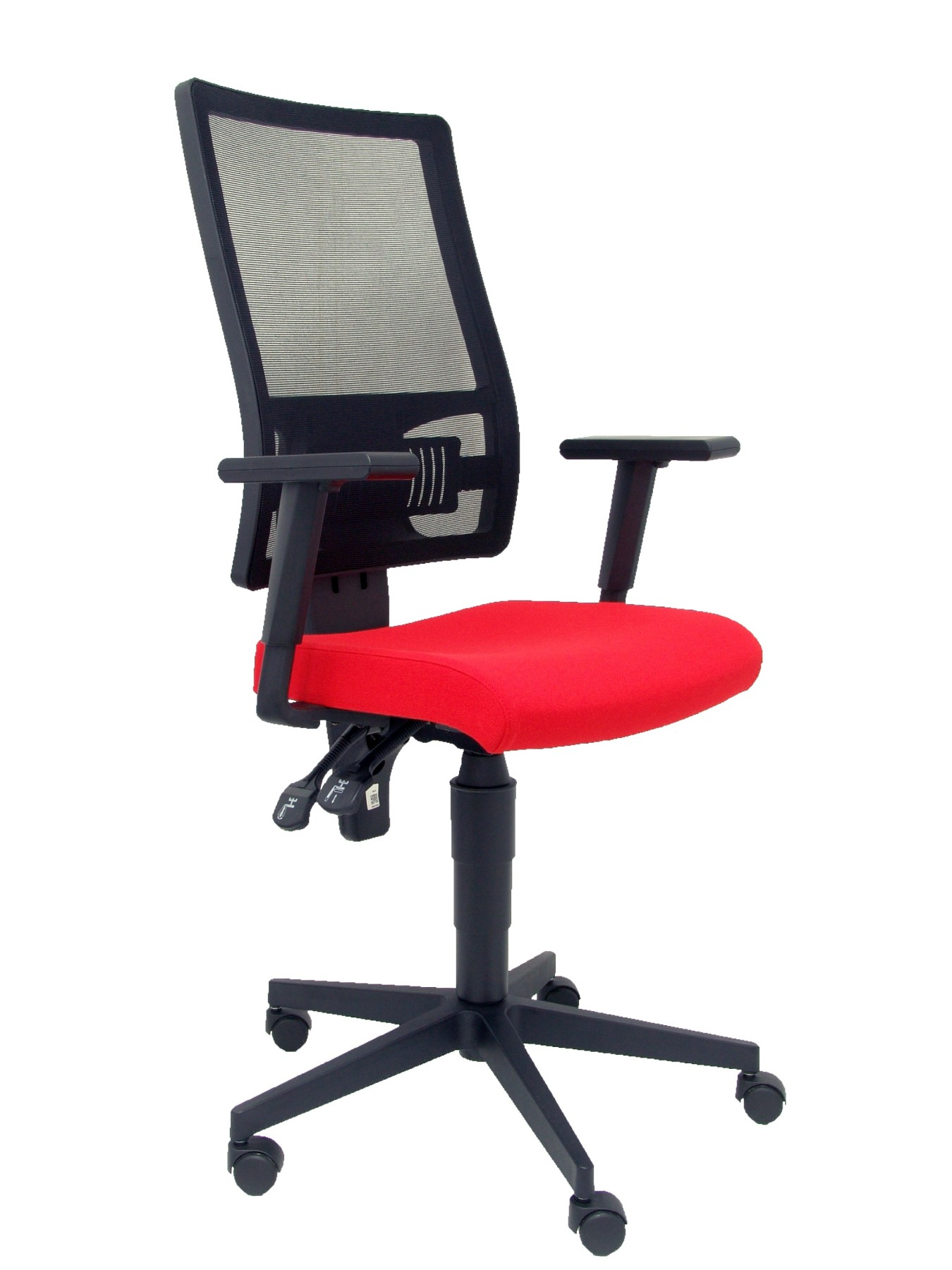 Chair's Office Desk Ergonomic With House Mechanism Sincro, Arms Adjustable And Lumbar Support-respaldo De Breathable Mesh