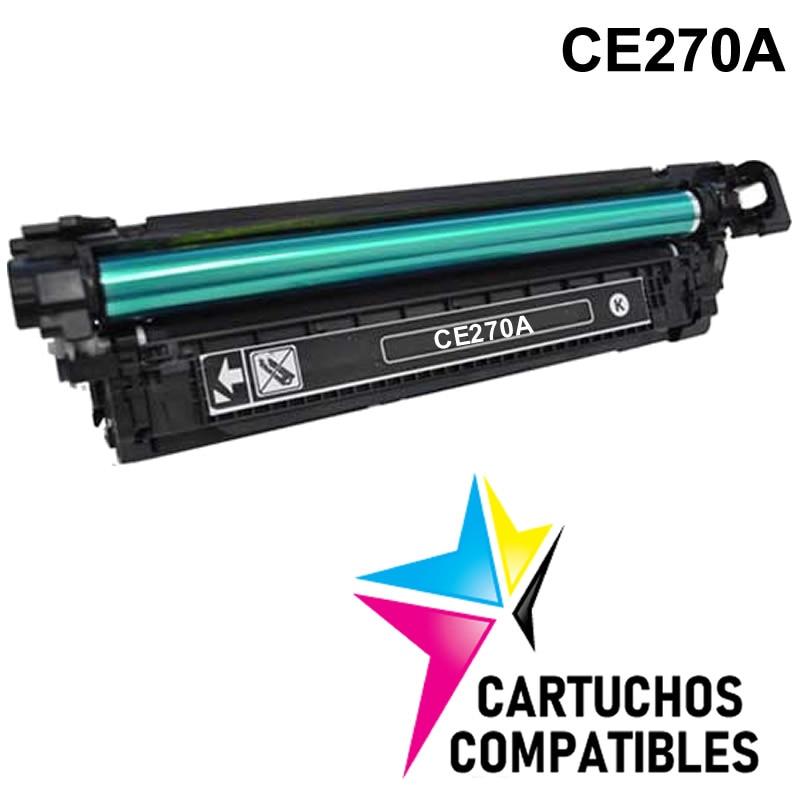 4-pk Toner Set For HP 650A Color LaserJet CP5520 CP5525 CP5525dn CP5525xh CE270A